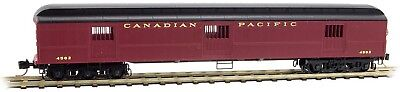 Micro-Trains MTL N-Scale 70ft Heavyweight Horse Car Canadian Pacific/CP #4502