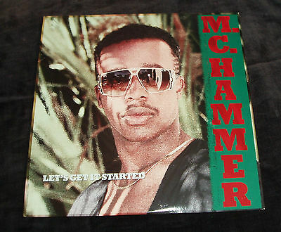 MC Hammer - Let's get it started   US VINYL LP