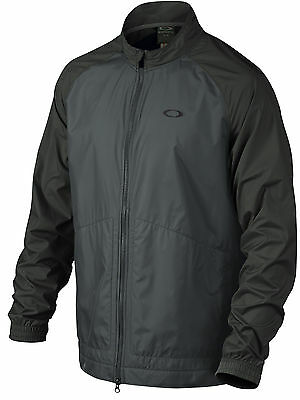 Oakley Golf Bryant Jacket Full Zip 411886 001 Black Mens Closeout New!
