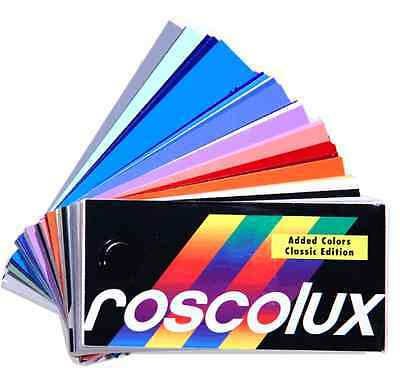 Rosco Roscolux Lighting Gel Filter Swatchbook
