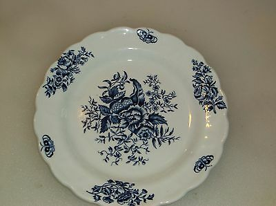 "Booth's ""PEONY BLUE"" 6 1/4"" Bread & Butter Plate(3)"