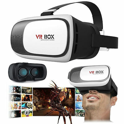 VR-BOX Virtual Reality Headset 3D Glasses Google Andriod iOS Cardboard Smart BY