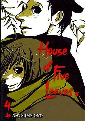 House of Five Leaves, Volume 4 by Natsume Ono (English) Paperback Book Free Ship