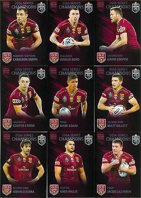 2016 NRL ESP State of origin Queensland set of 25 cards