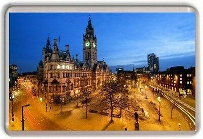 Manchester City Centre Fridge Magnet Free Postage