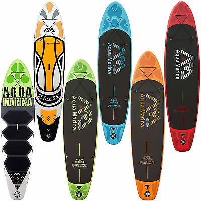 Aqua Marina SUP Stand Up Paddle Boards aufblasbare Paddelboards inflatable NEU