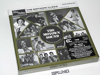 "7"" BOX: The Motown 7s Box Volume 2, Limited Edition, NEU & OVP (A7/3/11.43)"