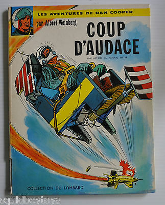 DAN COOPER : COUP D'AUDACE 1963 BD EO French Comic Book WEINBERG