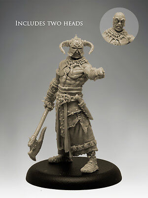 THANTOR THE BARBARIAN 35mm Scale RESIN Black Sun Miniatures