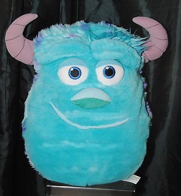 Disney Monsters Inc Sully 3D Face Soft / Plush Cushion