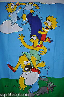 THE SIMPSON'S DUVET COVER 54 x 80 inch Bed Sheet / Fabric