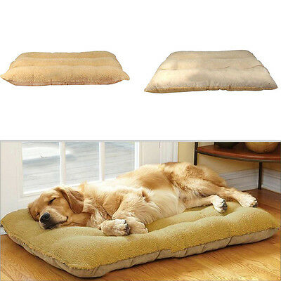 Pets Dog Comfortable Nest Sleep Bed Soft Cushion Mat Pad Kennel House Large New