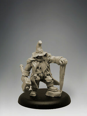 DWARF VAMPIRE HUNTER 35mm Scale RESIN Black Sun Miniatures