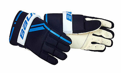 BAUER Streethockey Player Handschuh Senior L, 1046701, Inlinehockey, Rollhockey
