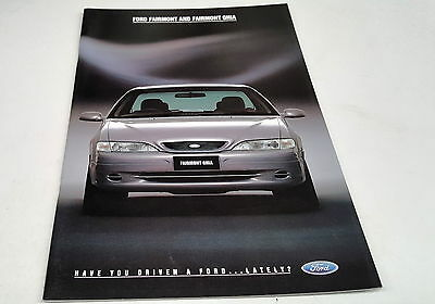 1994 FORD EL FAIRMONT  Australian Sales Brochure