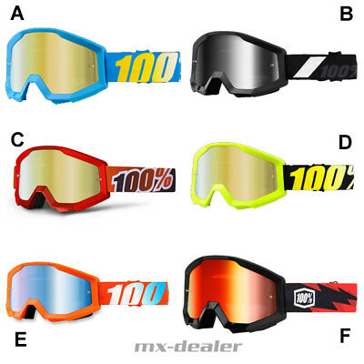 100 % Prozent Brille Strata Motocross Enduro MX MTB Cross BMX Quad google