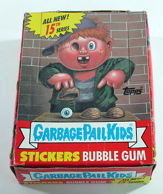Lot of (38) 1988 Topps GPK Garbage Pail Kids 15th Series Packs in Non X-Out Box
