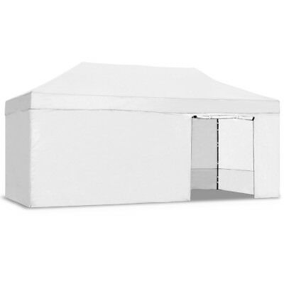 Carpa plegable jardín 3x6 color blanco Mchaus carpa para eventos fiestas 3x6