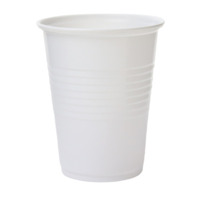 1000 7oz WHITE PLASTIC CUPS WATER COOLER/VENDING