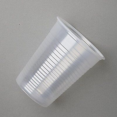 100 Clear Plastic Disposable Cups Water Cooler Vending