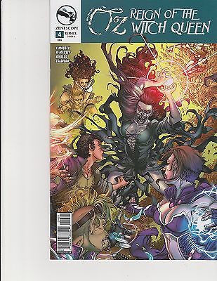 Reign of the Witch Queen #2 Oz 2A cover ~ Zenescope