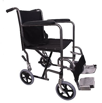 Angel Mobility Lightweight Folding Transit Travel Wheelchair Compact Design