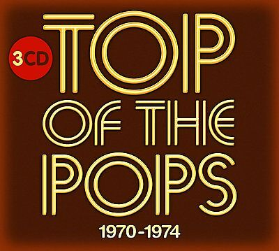 TOP OF THE POPS 1970-1974 3CD SET - VARIOUS ARTISTS (September 2nd 2016)