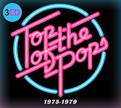 TOP OF THE POPS 1975-1979 3CD SET - VARIOUS ARTISTS (Released 2016)