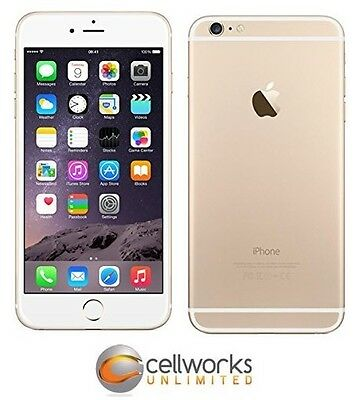Apple iPhone 6+ Plus ( FACTORY GSM UNLOCKED ) - 16GB - Gold - CLEAN IMEI