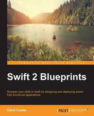 SWIFT 2 BLUEPRINTS by Cecil Costa (English) Paperback Book Free Shipping!