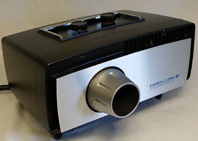 Bausch & Lomb Soflens Division Optometrist Projector Model 520 - Good Condition