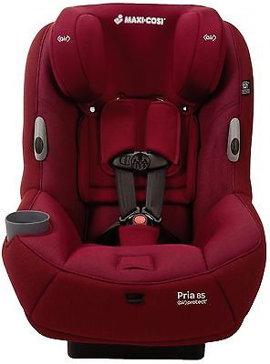 Maxi-Cosi Pria 85 Ribble Knit Convertible Car Seat Child Safety New Delhi Red