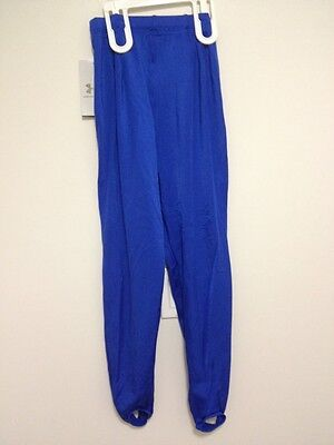 UNDER ARMOUR Child Fitness Pants Size L New With Tags Blue Gimnastics