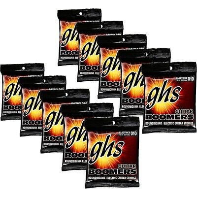 Boomers Light Roundwound Electric Guitar Strings (10-Pack)