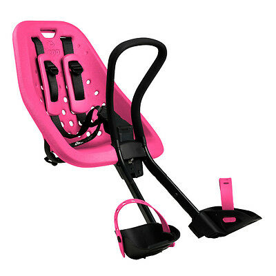 Yepp Mini Bicycle Front Child Seat Pink Standard Threaded