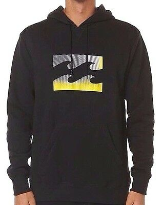 Men's Billabong Wave Icon Hoodie / Hooded Pullover - Size M. NWT, RRP $69.99.