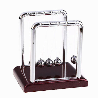 Newton's Cradle Steel Balance Balls Desk Science Educational Deck Toy Fun Gift