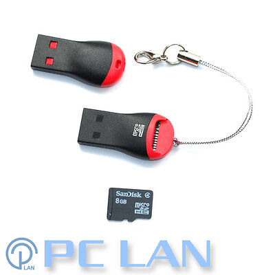 Siyoteam Card Reader for microSD TF USB 2.0 480Mbps SY-T50