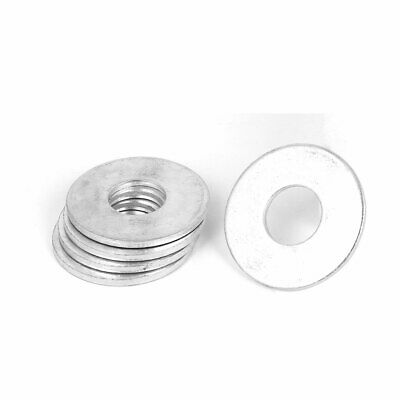 16mm x 40mm Zinc Plated Flat Spacers Washers Gaskets Fasteners GB97 5PCS