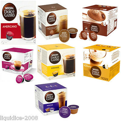 Nestle Dolce Gusto Coffee Machine Refill Pods Capsules Wholesale Trade Boxes