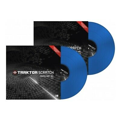 Native Instruments Traktor Scratch Timecode Vinyl MK2  blue (Paar)