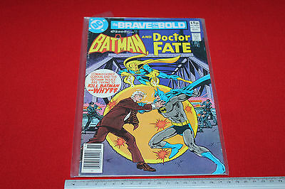 Dc Comics The Brave And The Bold Presents Batman 1979 Issue No. 156