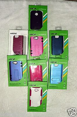 Wholesale Lot of Cricket Cell/Smartphone Cases Screen Savers-Mixed-NIP