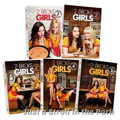 Two Broke Girls: TV Series Complete Seasons 1 2 3 4 5 Box / DVD Set(s) NEW!