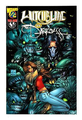 WITCHBLADE vs THE DARKNESS (NM) WIZARD 1/2 (FREE SHIPPING) *