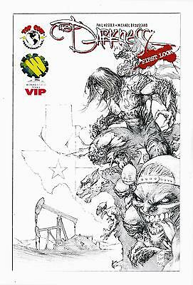 The Darkness First Look  (Nm) (Wizard World Texas) Vip Edition  (Free Shiping) *