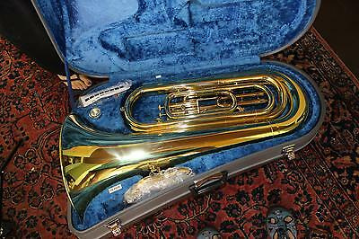 Yamaha YBB-105MWC 1/2 Size Tuba MINT CONDITION! WOW! QuinnTheEskimo