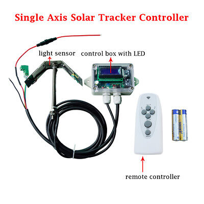 Solar Tracker Tracking Single Axis Electronic Controller for Solar Panel System