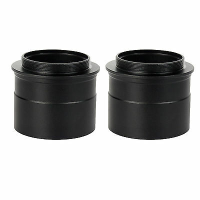 "2PCS 2"" to T2 Telescope Eyepiece Mount Adapter w/ Thread to Accept 2"" Filter Hot"