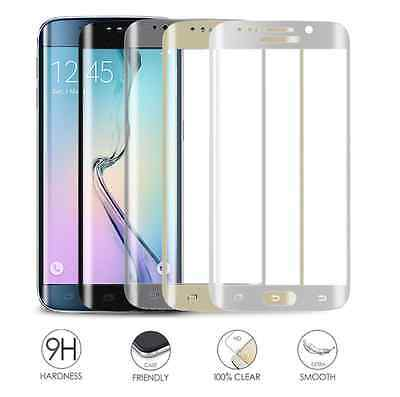 Full Cover Curve Tempered Glass Screen Protector for Samsung Galaxy S6 Edge + S7